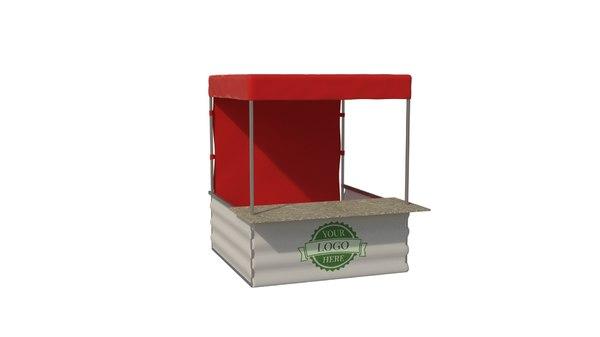 3D tent market box
