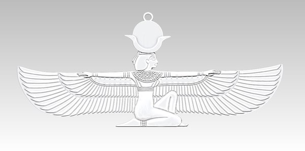 3D model isis pendant