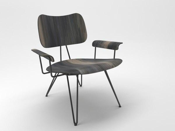 3D moroso chair model