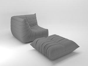 3D ligne togo corner