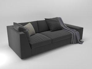 3D ligne sofa