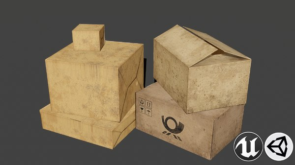3D paper pbr contains