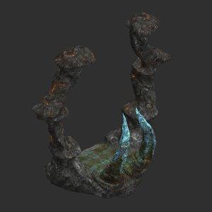 dragon portal 3D model
