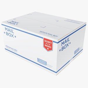 3D mail box medium model