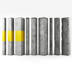 architecture loft industrial 3D