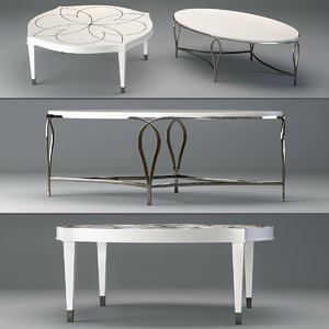 3D calista cocktail table