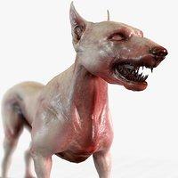 combat dog character model