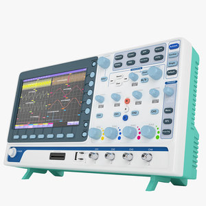3D digital oscilloscope mso-2072e
