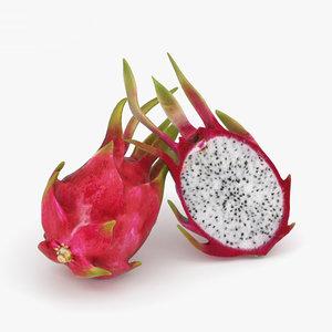 dragon fruit 3D