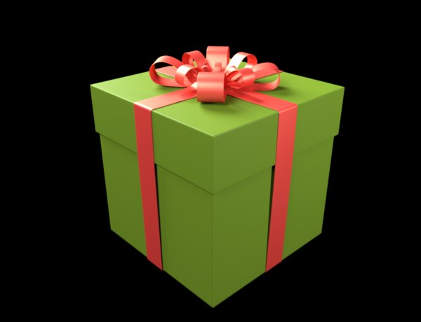 christmas present 3D