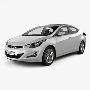 hyundai avante sedan model