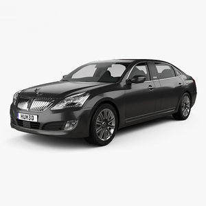 3D hyundai equus 2014 model
