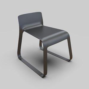 mobius chair judicael cornu 3D model