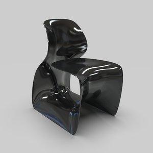 moot chair ross lovegrove 3D model