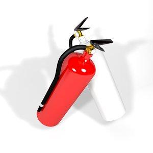 extinguisher tool 3D model