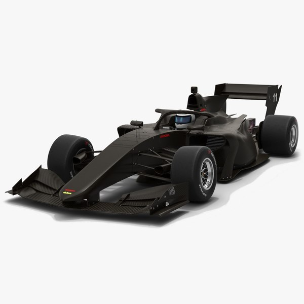 dallara sf19 super formula 3D model