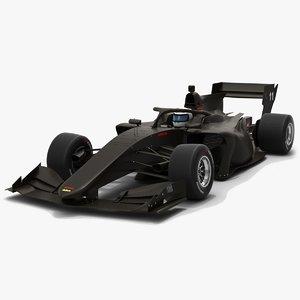 dallara sf19 super formula 3D model