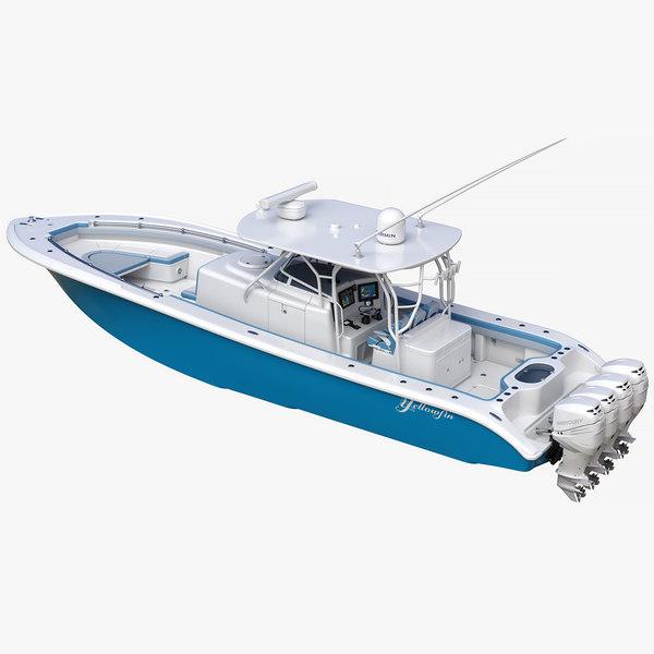 3D yellowfin 42 offshore sport