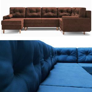 3D sofa dins model