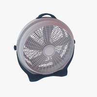 large floor fan 3D model