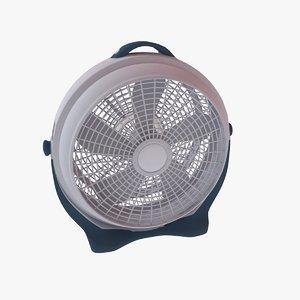large floor fan 3D model