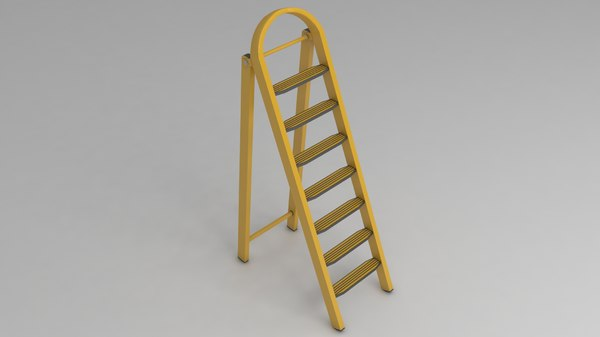 ladder work stairs 3D model