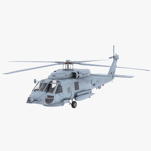 3D sikorsky sh-60 seahawk