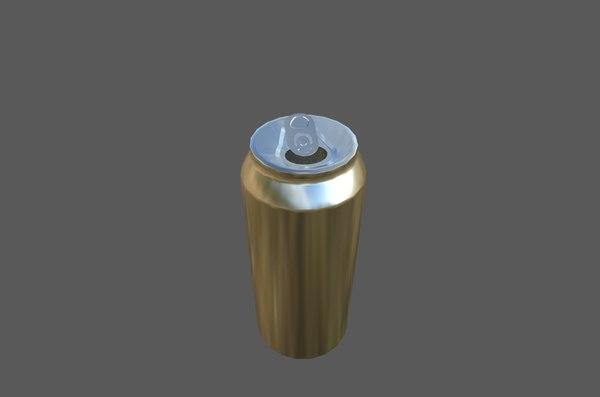 3D soda uv model