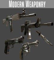 pbr weapons 3D model