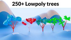 3D trees mega pack