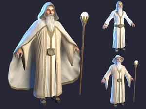 wizard 2 hat 3D model