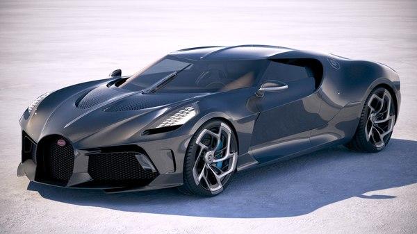 bugatti la voiture 3D model