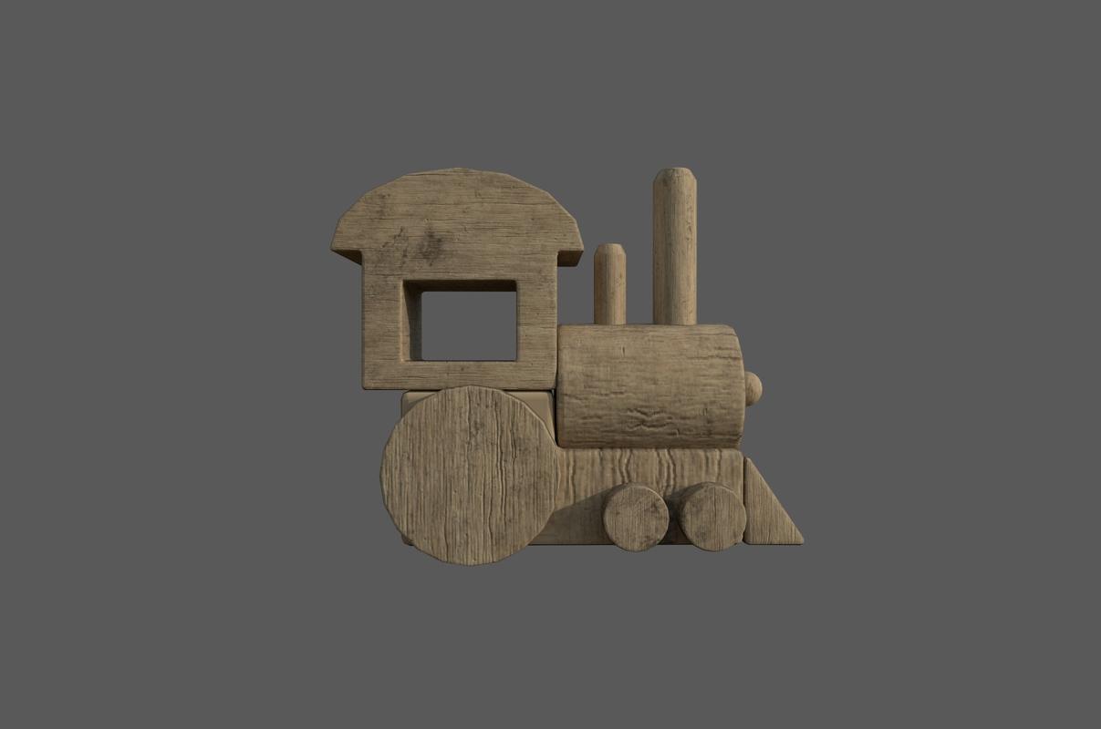 toy train 3D