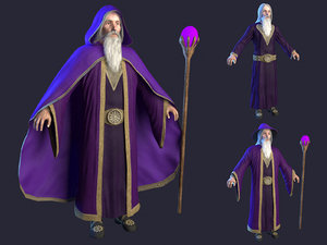 3D wizard cape hat