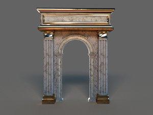 classic arch 3D model