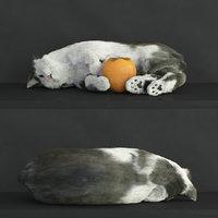 3D hair fur model