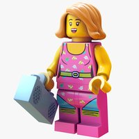 Lego Dancer - Rigged