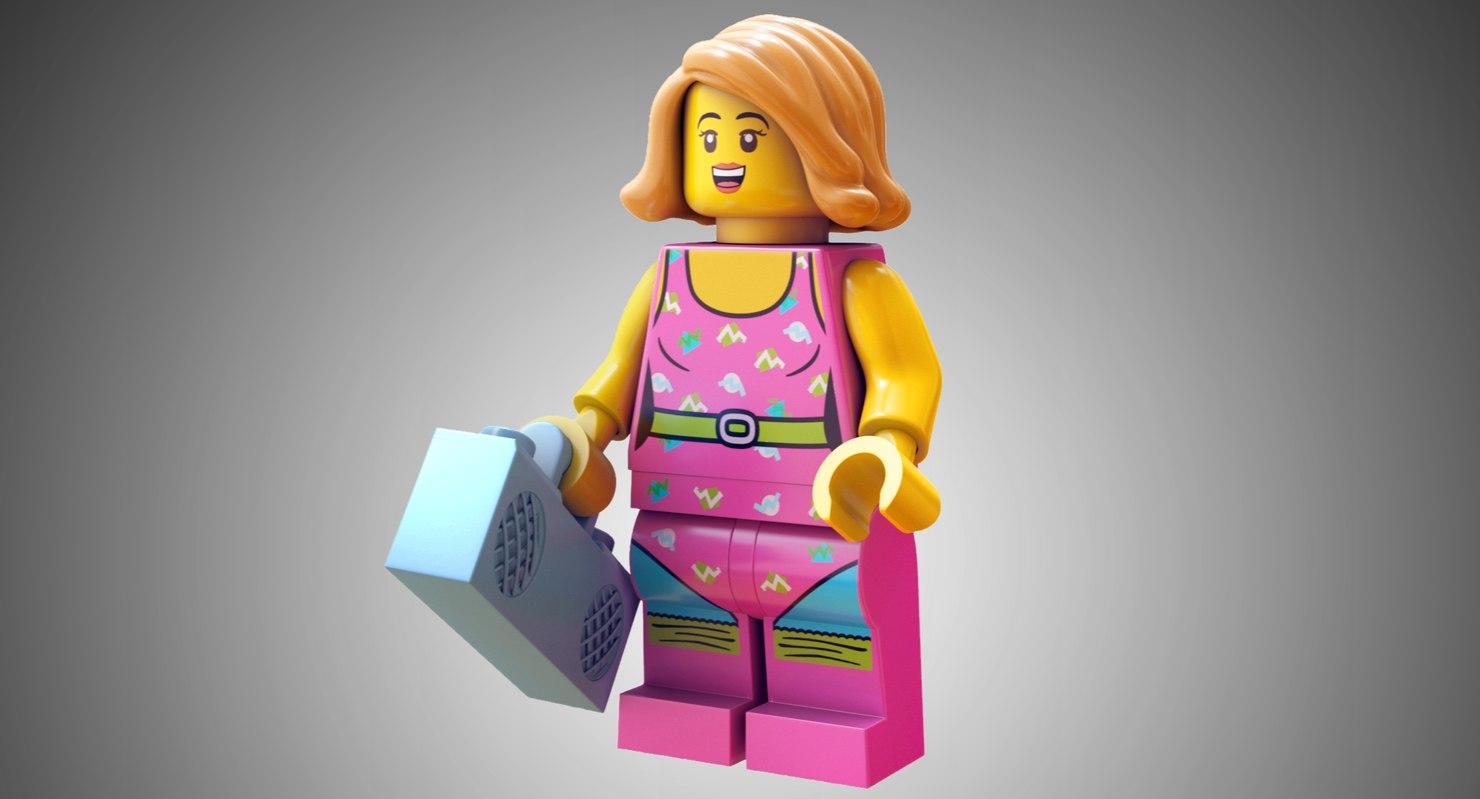 3D lego dancer
