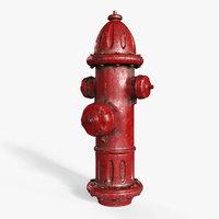 3D model hydrant corona pbr