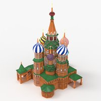 3D st basil cathedral