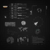 Sci Fi Hud Elements(head up display)