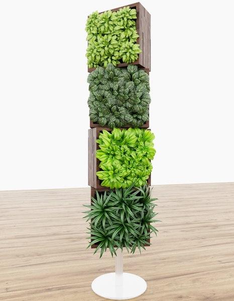 3D plant nature model