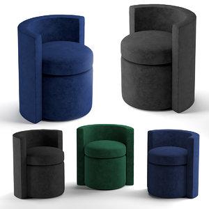 stool arcadia 3D model