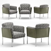 minotti shelley lounge little armchair