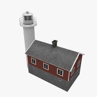 3D haken light house