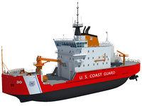 US Coast Guard Icebreaker Mackinaw