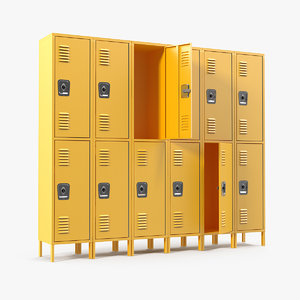 commercial lockers row model