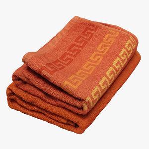 towel realistic 3D model