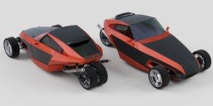 wheeler 3D
