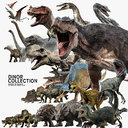 Dinosaur Collection3 (Rigged)